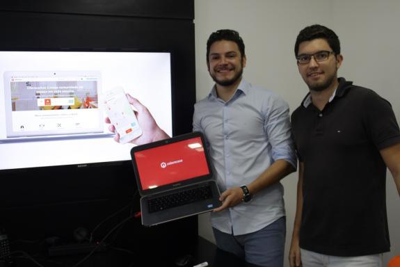 Marlon Pascoal e João Paulo Albuquerque, sócios-fundadores / Crédito: Divulgação Cabemcasa