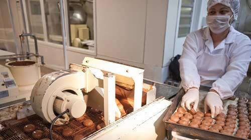 Reprodução/Embratur - Fábrica de chocolate em Gramado (RS)