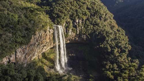 Reprodução/Diego Campos - Cachoeira do Caracol