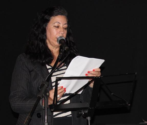 Fotografia de Silvana Mello - Poetisa Rita Delamari