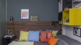 Pequenos espaços com decoração moderna e prática