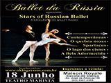 Sorteio de ingressos para o Espetáculo Ballet da Rússia