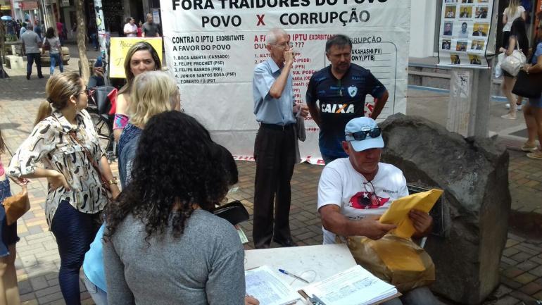 Movimento Abaixo IPTU Londrina