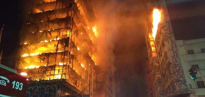 Incêndio em SP começou com curto-circuito no 5º andar, diz secretário