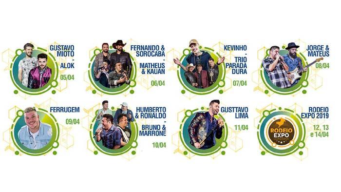 a088d63fd Começa venda de ingressos para shows da ExpoLondrina 2019 ...