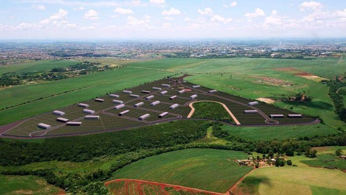 Divulgação/N.Com - Simulação mostra como será a Cidade Industrial, em área da <a href='/tags/zona-norte/' rel='noreferrer' target='_blank'>zona norte</a> de Londrina