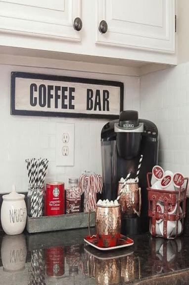 Saiba como montar um cantinho do caf em casa decora o - Ideas para montar un bar ...