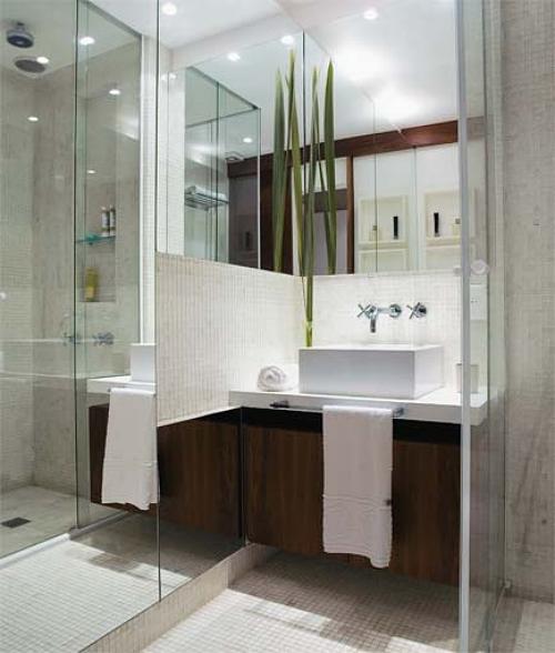 Mesmo pequeno, banheiro pode ser bonito e organizado  Casa  Bonde O seu po -> Banheiro Pequeno E Luxuoso