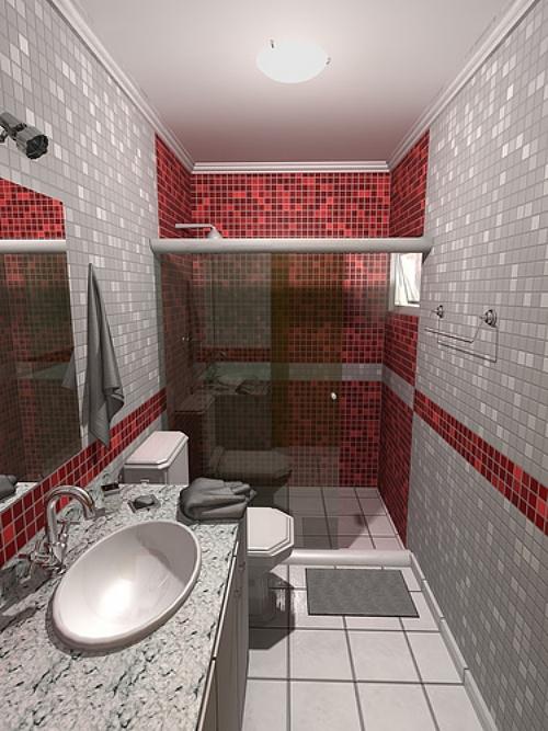 Mesmo pequeno, banheiro pode ser bonito e organizado  Casa e Decoração  Lif -> Banheiros Pequeno Bonito