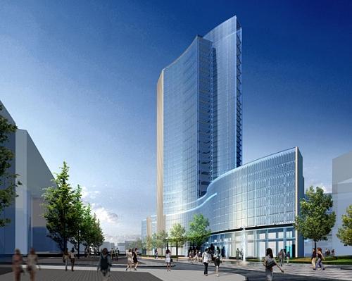 Conhe a os pr dios futuristas mais incr veis do mundo for I nuovi grattacieli di milano