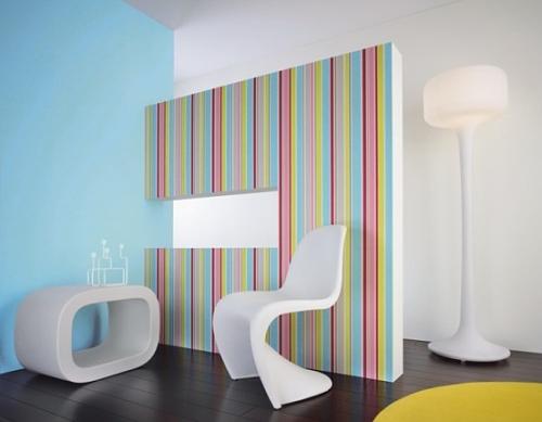 Papel de parede dos anos 70 nova op o para decorar - Papel decorativo para paredes ...