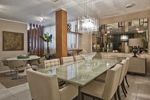 Sala De Jantar Dunelli House ~  ambiente de tv anexo a uma sala de jantar e um ambiente de bar foi a