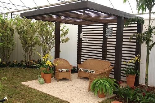 banco de jardim em pvc : banco de jardim em pvc:Expoflora mostra 25 propostas de jardinagem e paisagismo – Casa e