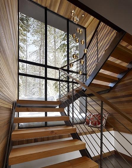 Escadas ganham destaque na arquitetura e decora o inspire se escadas casa e decora o - Escaleras para duplex ...